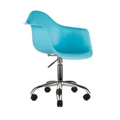 Office Arm Chair in Aqua | dotandbo.com