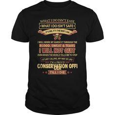 (Tshirt Like) CONSERVATION-OFFICER [Tshirt Sunfrog] Hoodies, Funny Tee Shirts