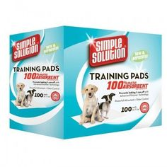 Puppy Training Pads 100 pcs Polymer Technology Absorbent Core Car Seat Covers #SimpleSolution