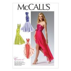 McCalls M6838 Misses' Dress