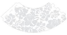 MOLDE TAÇAJUR: Abajur com taça de cristal.. A decoração Blanc é o sonho de consumo de qualquer noiva. A aplicação de branco sobre a porcelana é clean com detalhes discretos que dão um toque de sutileza em qualquer jantar.