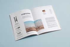 Orekhprom booklet by Dima Kuzmichev, via Behance