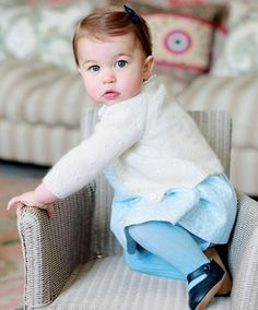 Princess Charlotte is simply adorable