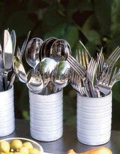 Silverware holders