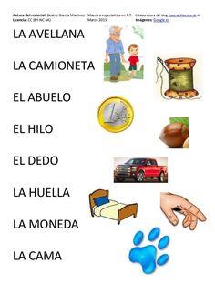 Cartilla de Lectura en Mayúsculas Spanish Lessons For Kids, Spanish Teaching Resources, Spanish Class, Sistema Solar, Leo, Education, Spanish, Alphabet, Home