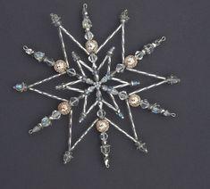 Snowflakes Ledová korálková hvězda velká