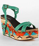 fun turquoise wedges :)