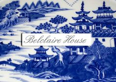 The Pink Pagoda: Blue and White Monday with Belclaire House