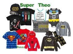 """""""Super Theo"""" by penni-13 ❤ liked on Polyvore featuring art"""