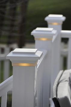 53 Awesome Deck Lighting Ideas to Lighten Up Your Deck 2019 - Hairstyles for Women House Paint Exterior, Exterior Paint Colors, Exterior House Colors, Paint Colors For Home, Deck Lighting, Exterior Lighting, House Lighting, Lighting Ideas, Outdoor Spaces