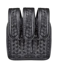 The Model 7945 AccuMold Elite® Slimline Triple Magazine Pouch is an AccuMold Elite® trilaminate/Ate construction with ballistic weave exterior and Coptex™ lining. The magazines are oriented ''face out'' allowing for carry of three magazines in virtually the same amount of space as a typical double magazine pouch. The 7945 features vertical or horizontal carry which offers versatility on the belt and a hook and loop or hidden snap closure. The pouch cavities expand both front and rear for a…