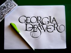 georgia deaver calligraphy - Google Search