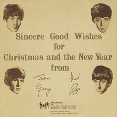 Cover of The Beatles Christmas Record