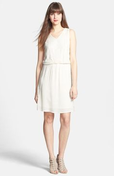 Bellatrix Lace Inset V-Neck Dress available at #Nordstrom