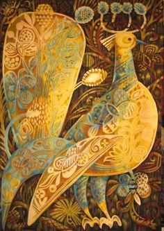 ( Woodcut ) - Joseph Domjan, Hungarian illustrator 1907-1992