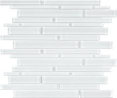 Discount Glass Tile Store - BLISS GLASS - RANDOM STRIP ICE ELEMENTS, $8.85 (http://www.discountglasstilestore.com/bliss-glass-random-strip-ice-elements/)