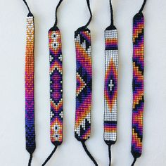 Handmade by Grace Michiko Hamann. Made with high quality Japanese seed beads.  Want something thats SOLD OUT? Interested in multiples or custom
