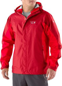 The Mountain Hardwear Sirocco jacket provides lightweight, packable, waterproof protection for on-mountain activities. Get it only at REI through 7/1/13.
