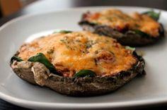 Mexican Style Portobello Mushroom Pizza http://greenlitebites.com/2012/01/30/mexican-style-portobello-mushroom-pizza/