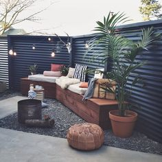 The back yard ready and waiting for summer. More on the blog and in this issue of @homestylemag