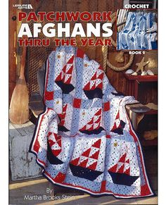 Patchwork Afghans Thru The Year Book 2 by grammysyarngarden