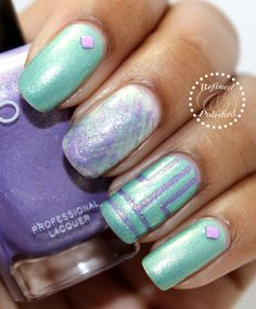 Mint and Purple Polished Obsession Contest | Refined and Polished