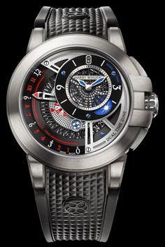 Kallistos Stelios Karalis ||| Luxury Connoisseur ||| ••••Harry Winston Project Z8 Dual Time 2014