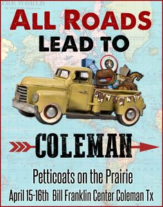 Yep....Coleman Texas get ready!!