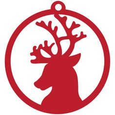 Silhouette Design Store - New Designs Christmas Stencils, Christmas Templates, Christmas Wood, Christmas Projects, Stencil Animal, Reindeer Ornaments, Christmas Ornaments, Scroll Saw Patterns, Ornaments Design