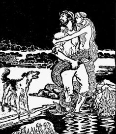 Lutey and the Mermaid. (illustrator Wilma Hickson?) Katharine Briggs, A Dictionary of Fairies (Harmondsworth: Penguin, 1977).