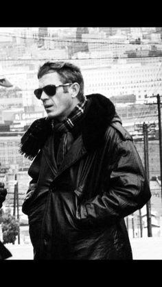 Steve McQueen | Back Set of Bullitt | 1968 | as Frank Bullitt