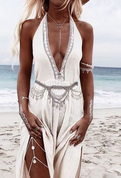 Laguna Maxi Dress - Sand