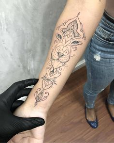 illustrative tattoo #Mandalatattoo