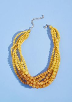 #ModCloth - #ModCloth The Beads Knees Statement Necklace - AdoreWe.com