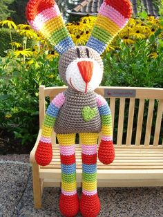 ao with <3 / xmas is over, easter knockin´at the door / Anna, the crochet Bunny