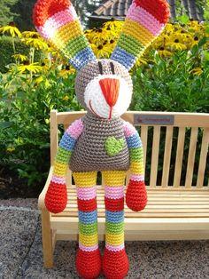 Anna, the crochet Bunny
