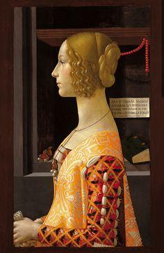 ghirlandaio - retrato de giovanna tornabuoni