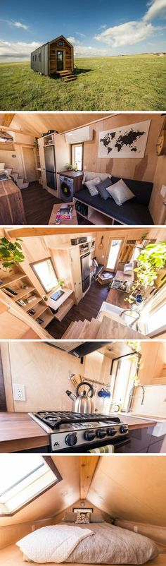The Farallon tiny house