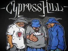 Vintage 1992 Cypress Hill Pass the Blunt hip hop T-shirt xl Doddle Art, Cypress Hill, Music Stuff, Concert, Caricature, Cool Bands, Good Music, Album Covers, Cover Art