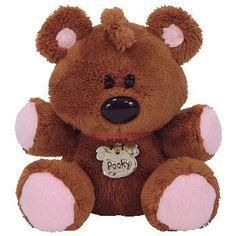 9a115ae6e12 TY Beanie Baby - POOKY the Stuffed Animal Bear (Garfield Movie Beanie) RARE!