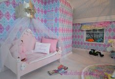 Dollhouse children´s room. Tutorial in my blog. Wellcome!