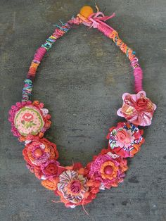 Ružica . Handmade necklace