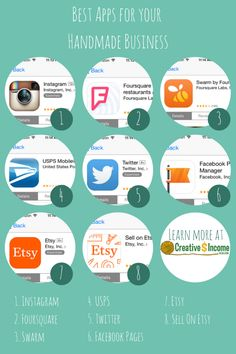 The Six Most Useful Apps for Your Handmade Business