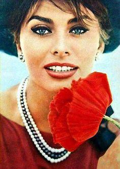 Legend and Icon Sophia Loren......<3