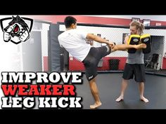 How to Kick Faster/Harder with Your Lead (Weaker) Leg - YouTube
