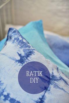 [diy] Bettwäsche selber batiken - Marmeladekisses