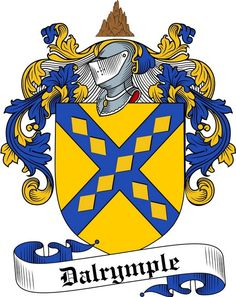 Dalrymple coat of arms / family crest from www.4crests.com  Armoiries des Dalrymple, mes ancêtres maternels.