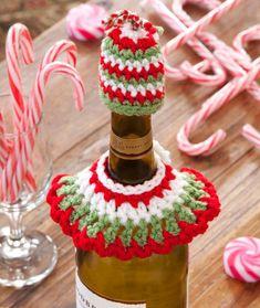 Clever Christmas Bottle Caplet