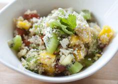 Mango Kiwi Quinoa Salad by jenloveskev, via Flickr