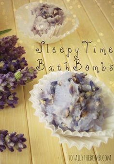 These Sleepy Time Bath Bombs are all I need to wash my worries away.